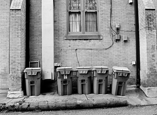 Garbage cans in DC