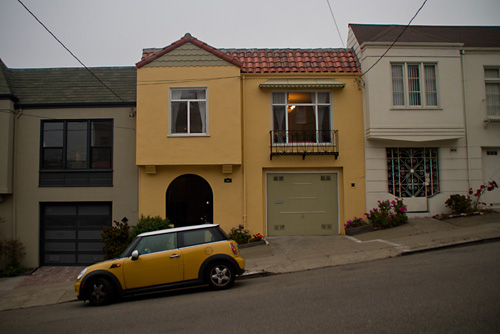 Matching home and car, San Francisco, CA
