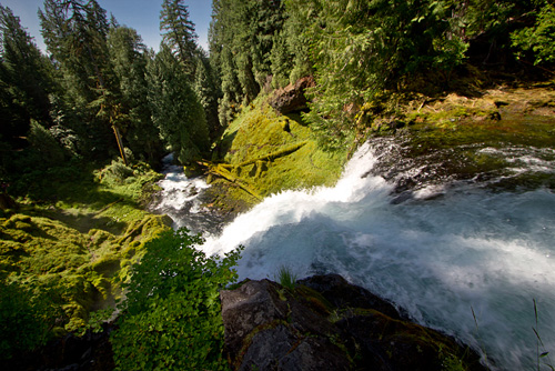 Sahalie Falls, OR