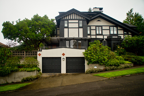 House in Queen Anne district of Seattle, WA