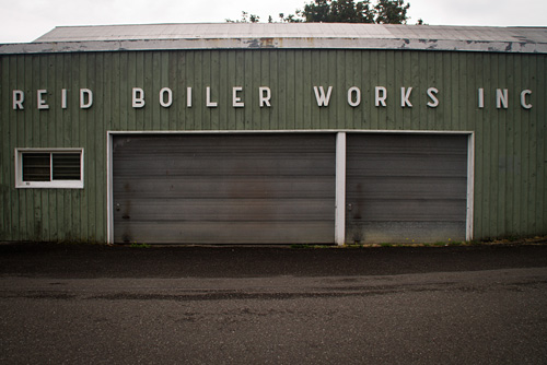 Typography in Bellingham, WA