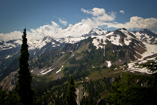 Mount Baker near Bellingham, WA