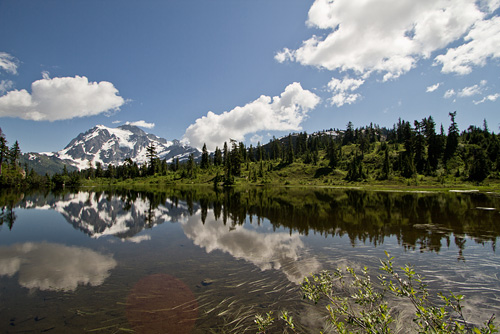 Mount Shuksan near Bellingham, WA