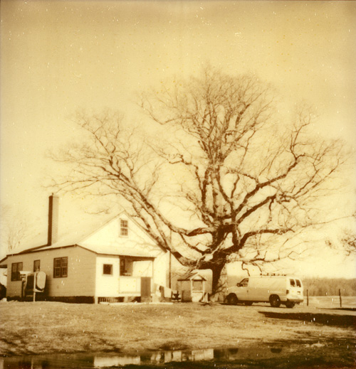 Rural Virginia - Shot with the Polaroid PX-100 on The Impossible Project's Silver Shade film