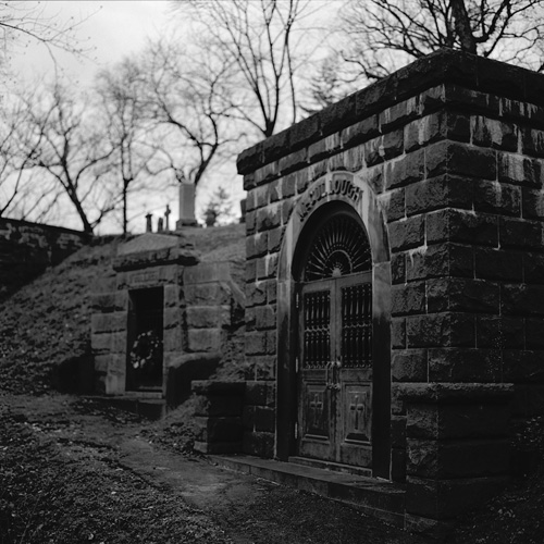 Oak Hill Cemetery, Washington, DC - Shot with A Hasselblad 503CX on Kodak 100 TMAX 35mm film