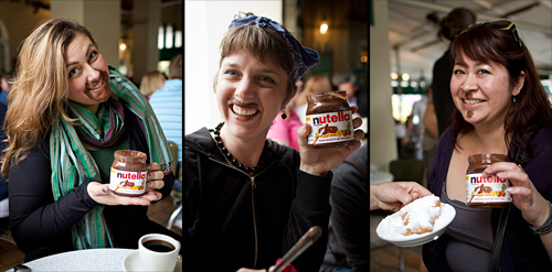 Celebrating World Nutella Day at Cafe du Monde in New Orleans, LA