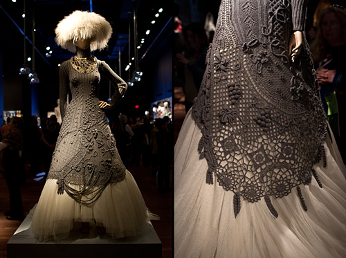 Jean Paul Gaultier Exhibit at the de Young Museum, San Francisco, CA - I want this dress.
